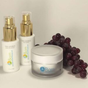 BORN Skincare with Grapeseed Oil