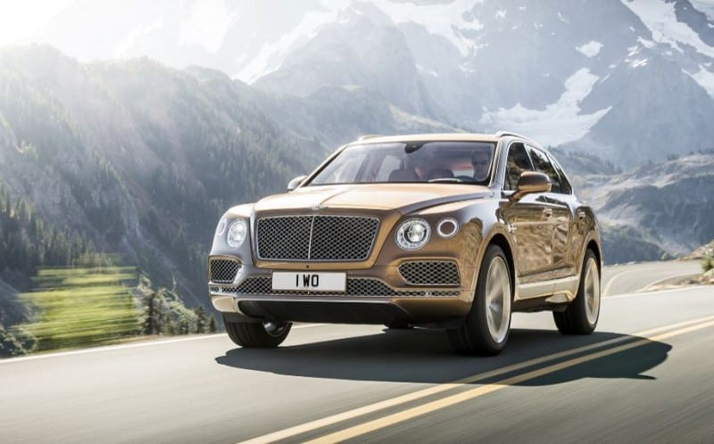 Bentley Bantayga First Edition