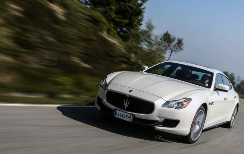 The Maserati Quattroporte