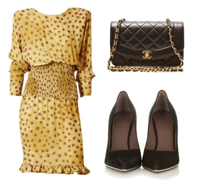 Chic Leopard Dress Style
