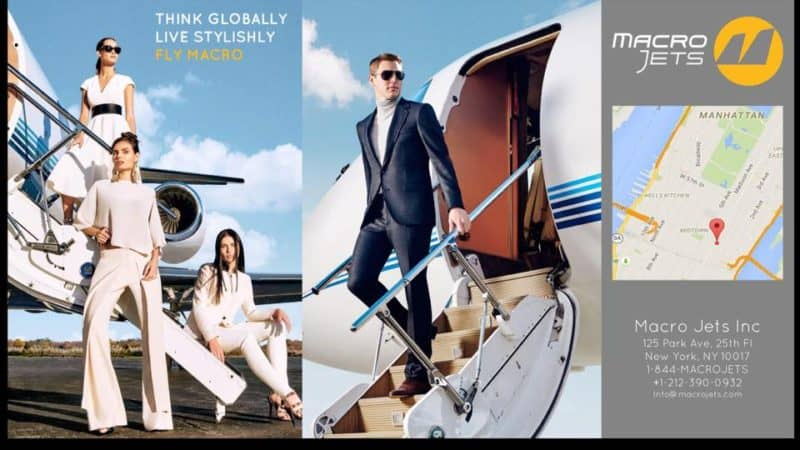 MACRO Jets: A one of a kind first class service for those who own and charter jets