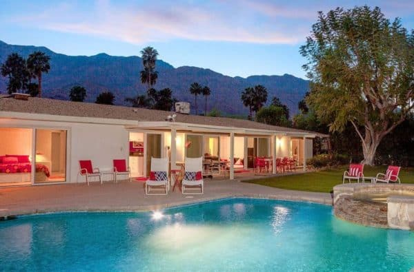 Walt Disney's Palm Springs Vacation Home
