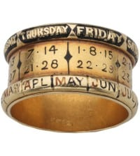 Ancient Perpetual Calendar Ring
