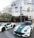 Dubai Luxury Police Patrol Cars