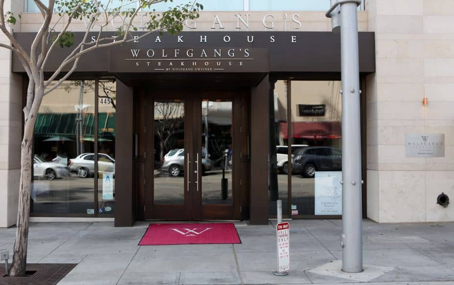 Wolfgang's Steakhouse Beverly Hills
