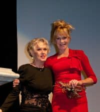 Melanie Griffith honoring her Mother Tippi Hedren with a Lifetime Achievement Award