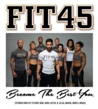 GET FIT in 45 days with just 45 minutes a day!!!