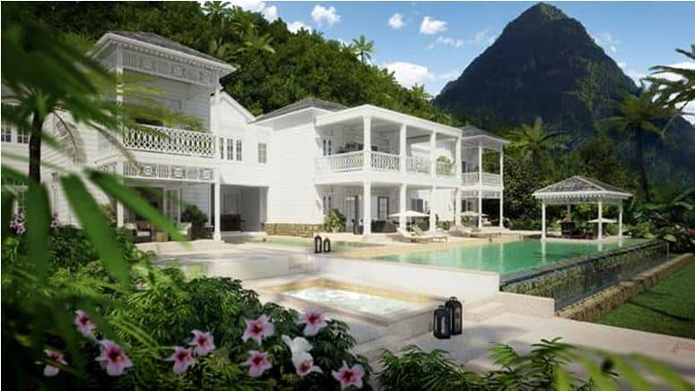Caribbean Homes For Sale Sugar Beach Residences Luxury Homes For Sale