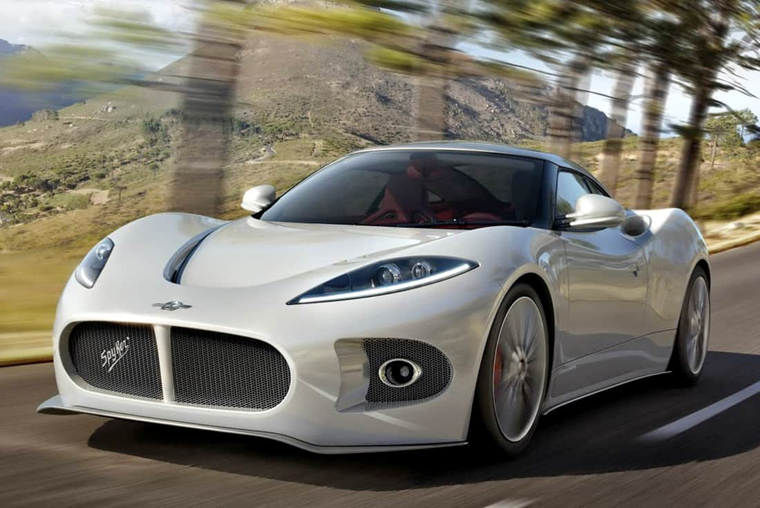 2013 <b>Spyker B6</b> Venator Spyder Concept at the Pebble Beach Concours ...