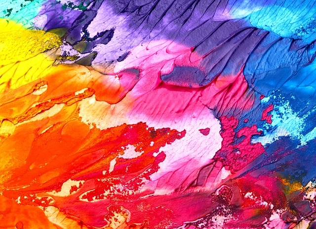 Stunning Colorful Art Painting
