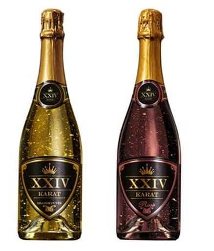 24 Karat Gold Champagne