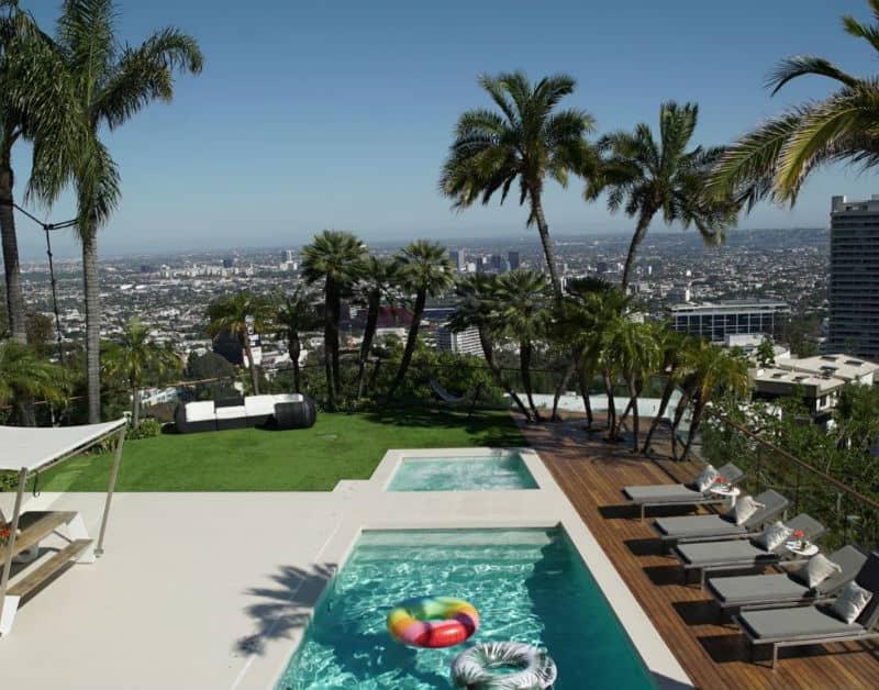 9432 Sierra Mar Hollywood Hills Rare Opportunity