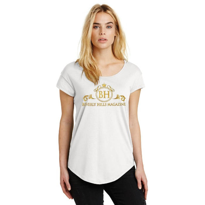Women's Cotton Modal Tee. BUY NOW!!! #beverlyhills #beverlyhillsmagazine #bevhillsmag #shop #style #fashion #topsforwomen #shopping #store