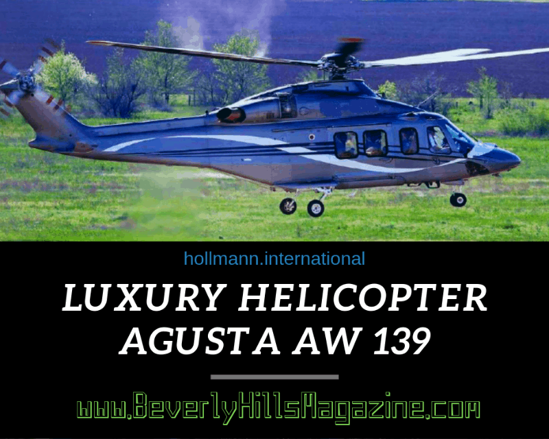 Blue Agusta 139W Luxury Helicopter