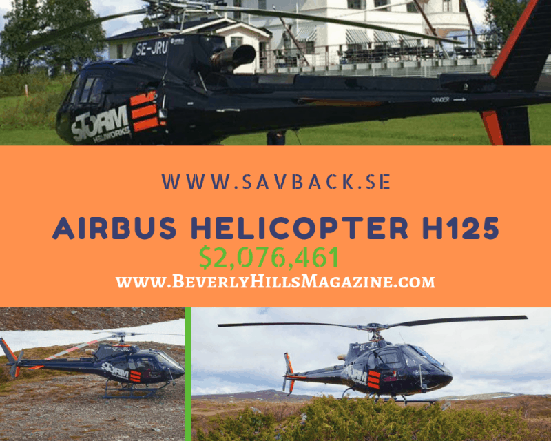 Airbus Helicopters: Eurocopter H125 #Helicopter #beverlyhills #beverlyhillsmagazine #bevhillsmag #helicopters #dream #luxury #aircraft #cool #aircrafts