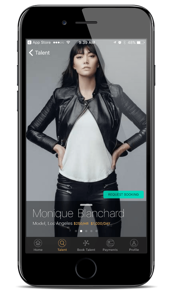 Agent Inc App For The Modeling Industry