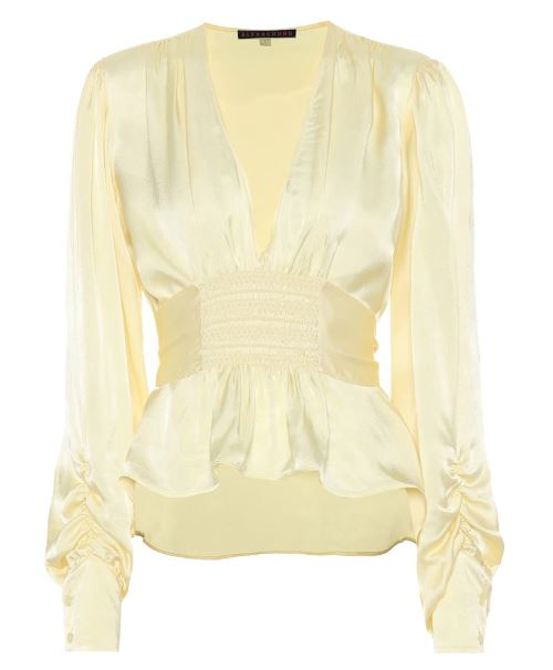 Alexa Chung Silk Blouse. BUY NOW!!! #shop #fashion #style #shop #shopping #clothing #beverlyhills #dress #beverlyhillsmagazine #bevhillsmag #dresses