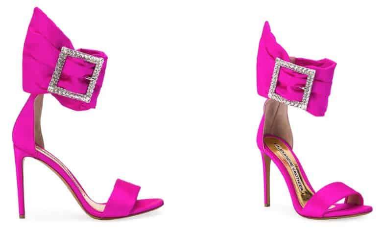 Alexandre Vauthier Yasmine Sandals. BUY NOW!!! #fashion #style #shop #shopping #clothing #beverlyhills #shoes #designer #davidkoma #hermes #highheels #alexandervauthier #purses #tomford #skirt #dresses #beverlyhillsmagazine #bevhillsmag #shoes #highheels #pink