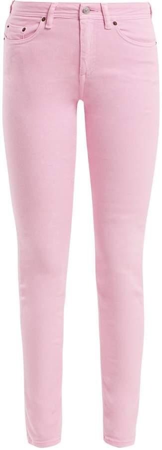 Candy-Pink Stretch Jeans. BUY NOW!!! #BevHillsMag #beverlyhillsmagazine #fashion #style #shopping