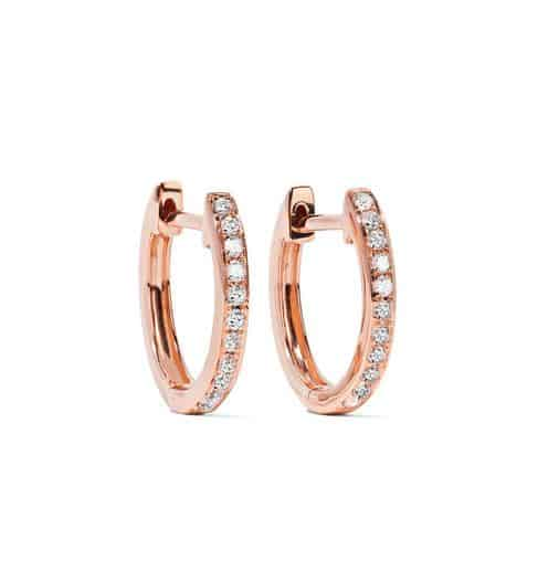 Anita Ko Rose Gold Diamond Earrings. BUY NOW!!! #beverlyhills #watches #shop #jewelry #necklace #rings #earrings #bevhillsmag #bevelryhillsmagazine
