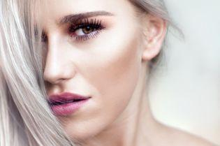 Beautiful Blond Female Model