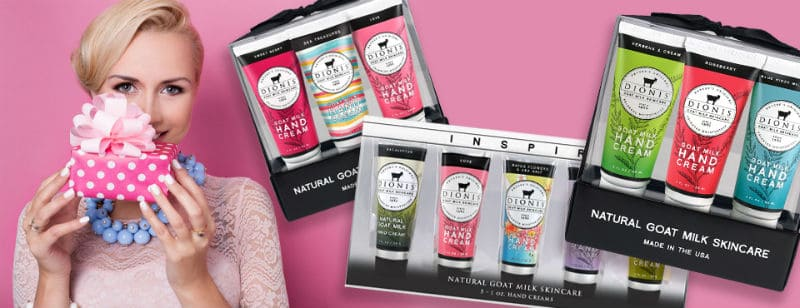 DIONIS Goat's Milk Beauty Products #beverlyhills #beverlyhillsmagazine #fashion #style #hollywood #holidays #giftguide #holidaygiftsguide #giftideas #gifts