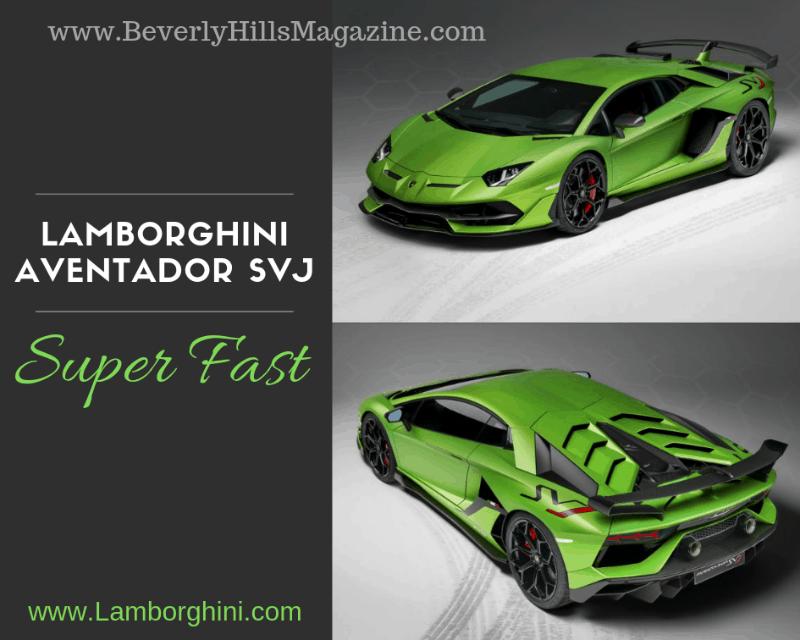 Dream Cars Lamborghini Aventador Svj Beverly Hills Magazine