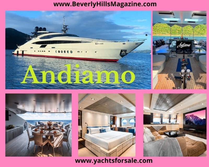 Andiamo #beverlyhills #beverlyhillsmagazine #BevHillsMag #yachts