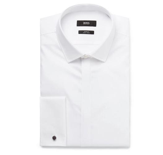 Hugo Boss Collared Shirt. BUY NOW!!! #BevHillsMag #beverlyhillsmagazine #fashion #style #shopping #styleformen
