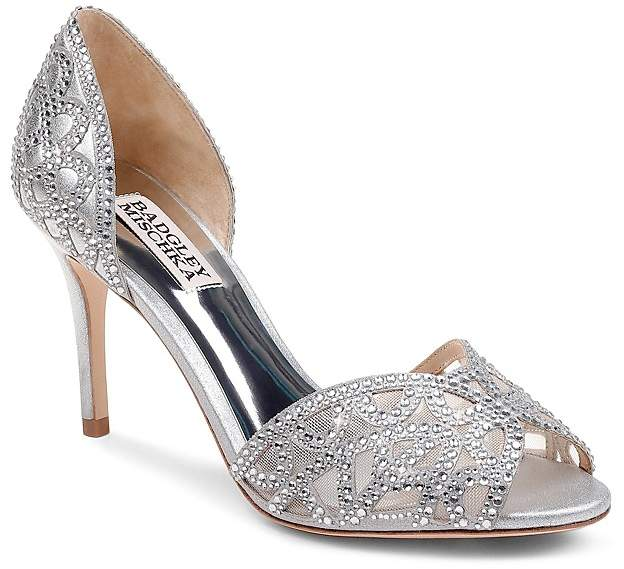 Classy Badgley Mischka Pumps. BUY NOW!!! #BevHillsMag #beverlyhillsmagazine #fashion #style #shopping