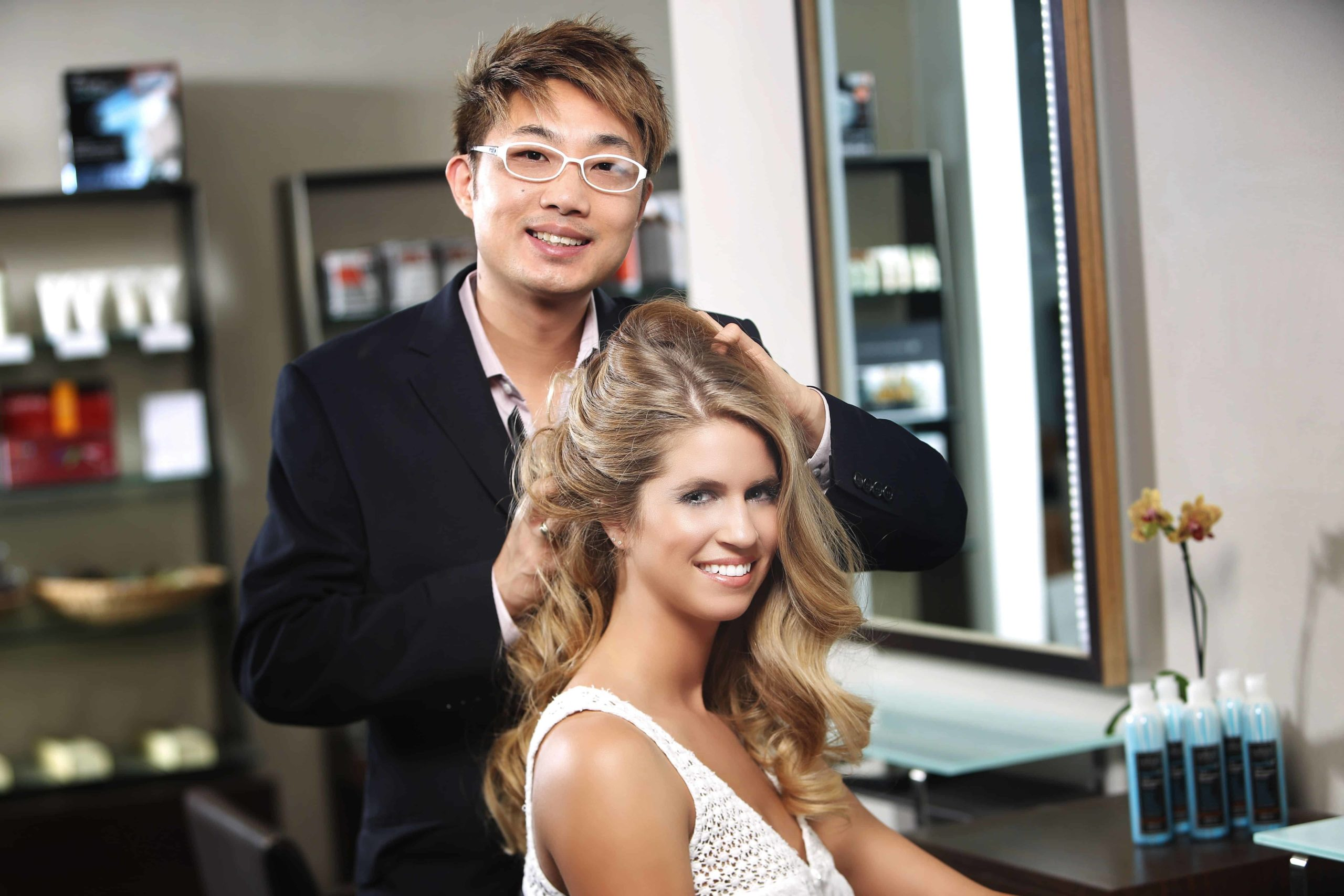Nelson Chan of Beverly Hills Nelson J Salon