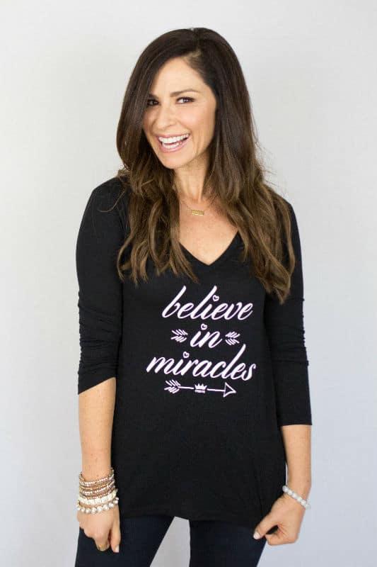 Believe In Miracles Tee