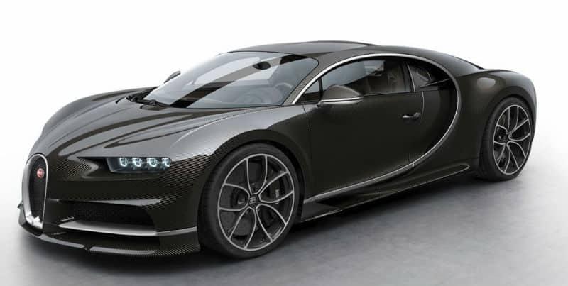 Dream Cars: Bugatti Chiron 2017