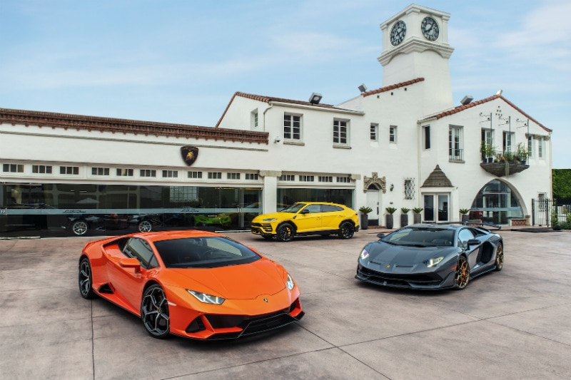 Lamborghini Beverly Hills Dealership Now Open