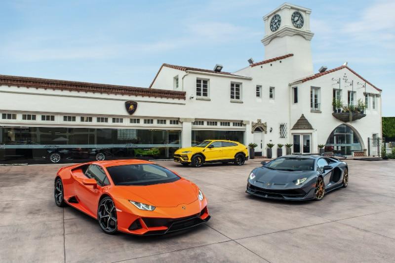 Lamborghini Beverly Hills Dealership Now Open