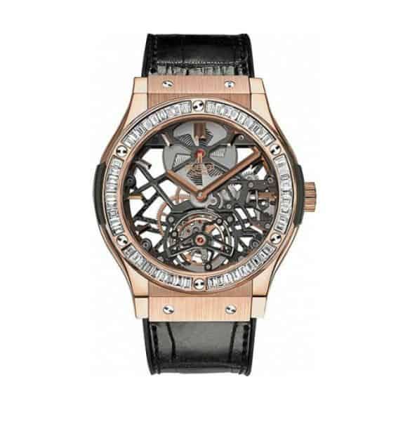 Men's Watch: Hublot Classic Fusion Tourbillon #man #watch #cool #watches #sweet #timepiece #time #style #watchesofinstagram #style #fashion #fashionblogger #styleformen #gift #ideas #giftsforhim #beverlyhills #BevHillsMag #beverlyhillsmagazine