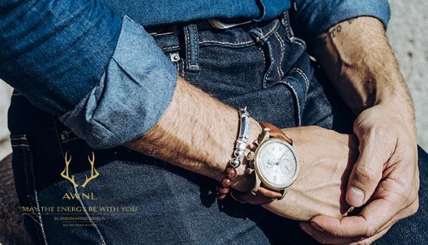 Beverly Hills Magazine AWNL Aurora Meteorite Bracelet