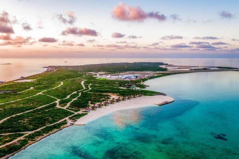 Ambergris Cay in Turks & Caicos Island:#beverlyhills #beverlyhillsmagazine #ambergriscay #turks&caicosisland #luxurydestination #privateisland #luxuryresort #caribbean #travel #vacation #exclusivegetaway