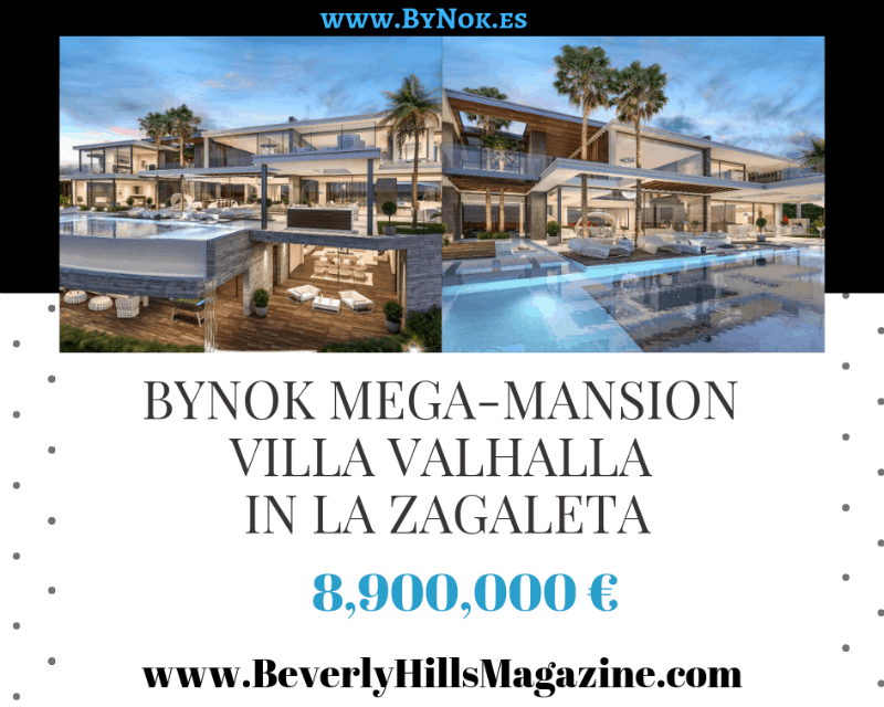 By Nok Mega-Mansion Villa Valhalla In La Zagaleta #Spain #CostaDelSol #dreamhomes #realestate #homesforsale #Madrid #mansions #estates #beverlyhills #beverlyhillsmagazine #luxury #exclusive #luxurylifestyle #beautiful #life #beverlyhills #BevHillsMag #Marbella #espana #Spain #villa #LaZagaleta #bynok @Bynok