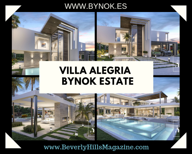 Villa Alegria: An Exquisite Bynok Estate #Spain #CostaDelSol #dreamhomes #realestate #homesforsale #Marbella #mansions #estates #beverlyhills #beverlyhillsmagazine #luxury #exclusive #luxurylifestyle #beautiful #life #beverlyhills #BevHillsMag #Marbella #espana #Spain #villa #estepona #bynok @Bynok