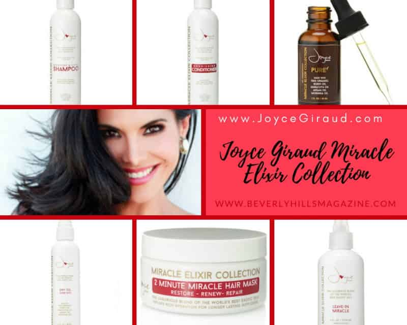Joyce Giraud Miracle Elixir Collection #Amazing #hair #beauty #products #luxury #haircare #beautyproducts #naturalbeauty #love #beverlyhills #shop #BevHillsMag