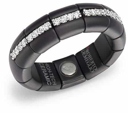 18K White & Black Diamond Ring. BUY NOW!!!