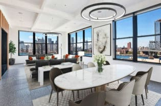 A Luxury Penthouse In Prestigious Brooklyn, New York Neighborhood #realestate #dream #homes #estates #beautiful #brooklyn #newyork #newyorkcity #homes #nyc #homesweethome