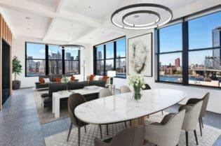 A Luxury Penthouse In Prestigious Brooklyn, New York Neighborhood #realestate #dream #homes #estates #beautiful #brooklyn #newyork #newyorkcity #homes #nyc #homesweethome