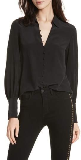 L'Agence Silk Blouse. BUY NOW!!! #beverlyhillsmagazine #bevhillsmag #shop #style #shopping #fashion