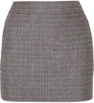 Saint Laurent Skirt. BUY NOW!!! #BevHillsMag #beverlyhillsmagazine #fashion #style #shop #shopping