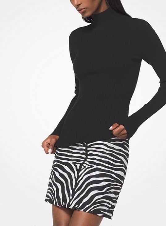 Michael Kors Turtleneck. BUY NOW!!! #beverlyhillsmagazine #beverlyhills #fashion #style #shop #shopping #pink