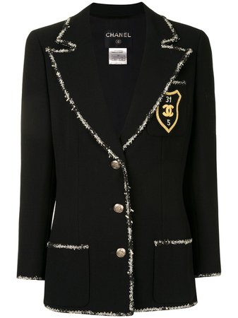 Beverly Hills Magazine Chanel Pre-owned 2005 single breasted blazer