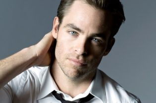 Hollywood movie star Chris Pine