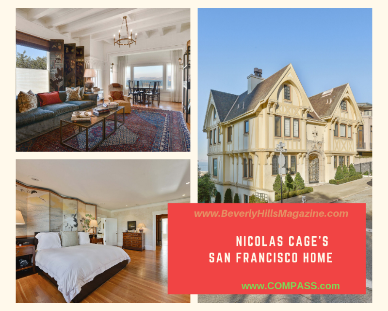 Nicolas Cage's San Francisco Home #USA #dreamhomes #nicolascage #luxury #realestate #homesforsale #celebrity #celebrityhomes #georgia #celebrityrealestate #realestate #dreamhomes #beverlyhills #bevhillsmag #beverlyhillsmagazine
